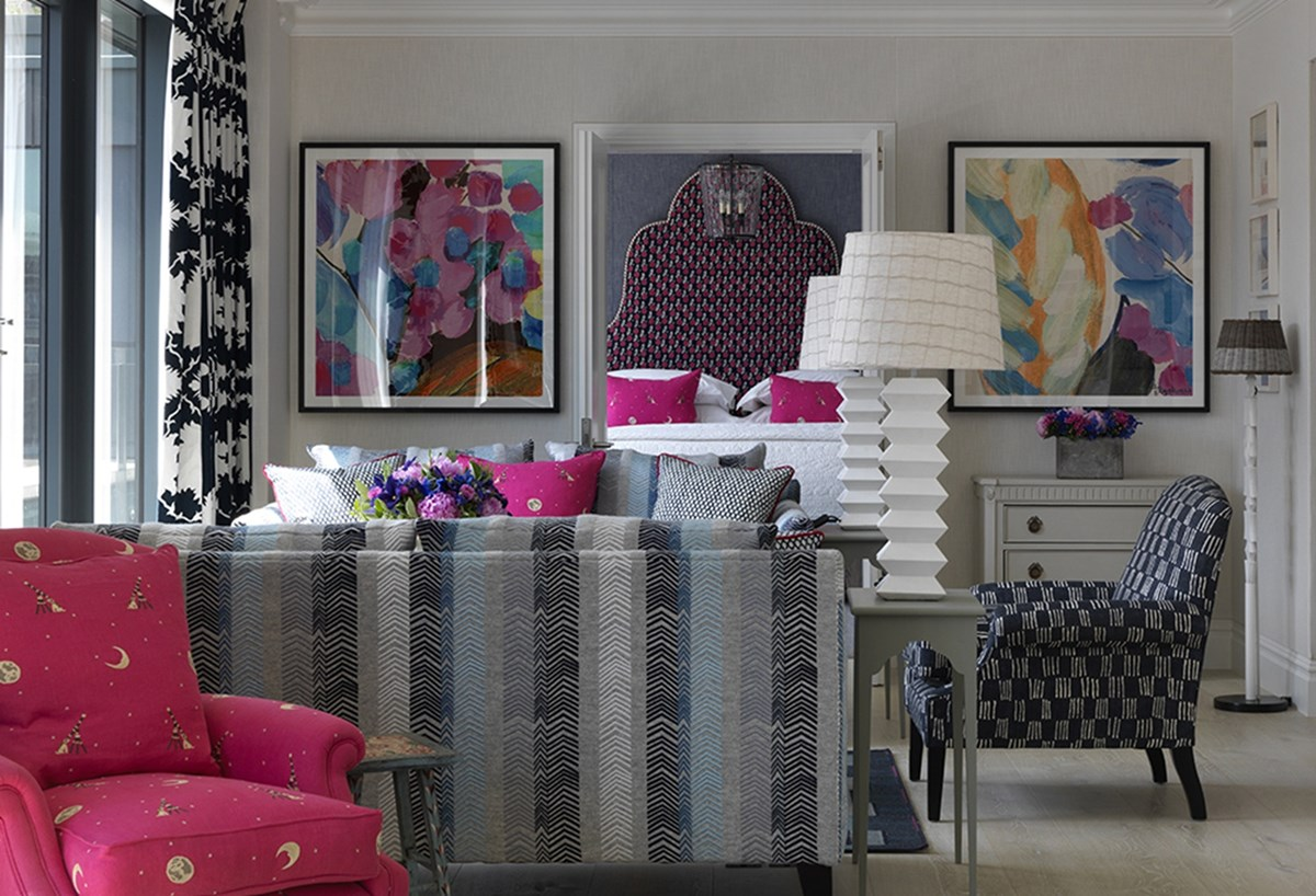 firmdale hotels the terrace suite. Black Bedroom Furniture Sets. Home Design Ideas