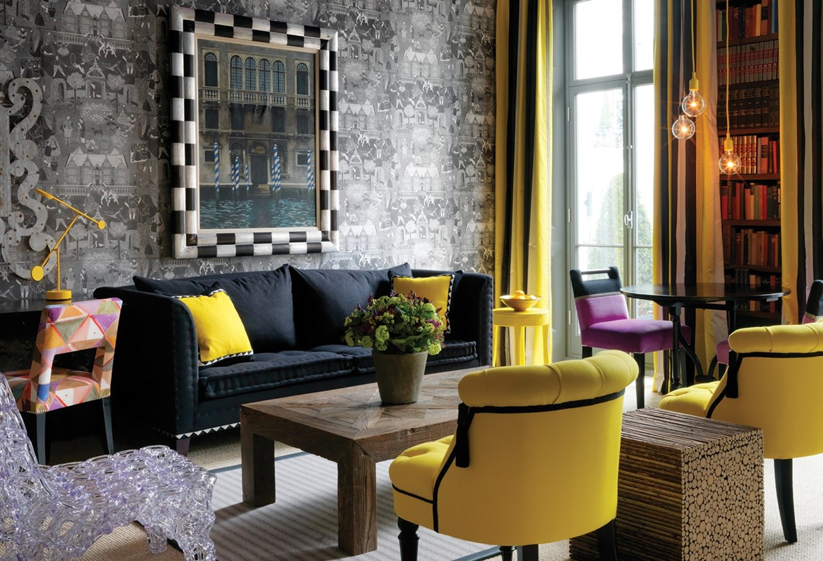 Firmdale hotels library for Hotel boutique londres