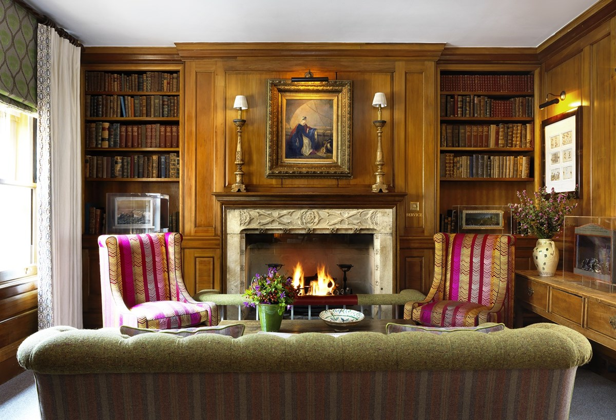 Firmdale hotels library for London garden rooms