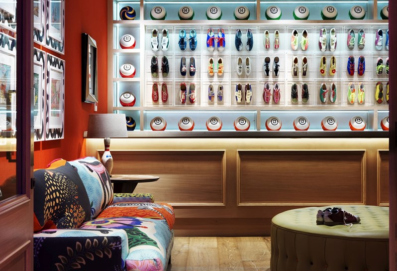 firmdale hotels the croc bowling alley. Black Bedroom Furniture Sets. Home Design Ideas