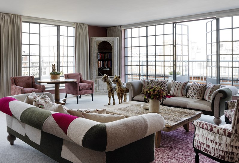 Firmdale hotels two bedroom terrace suite - London hotels with 2 bedroom suites ...