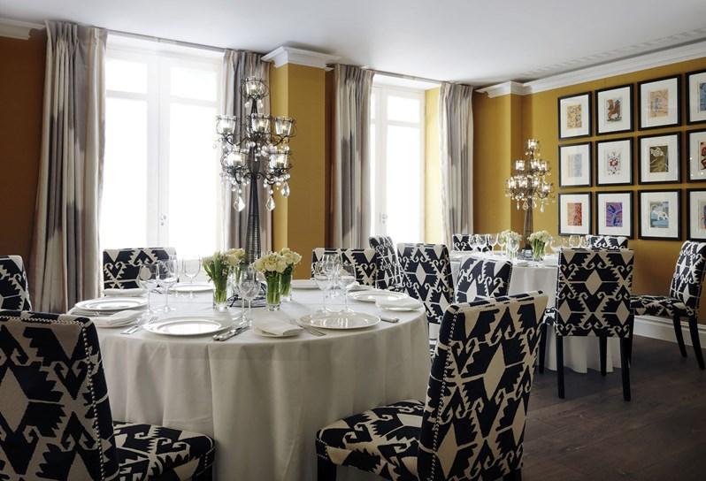 Firmdale hotels lyric room for Best private dining rooms covent garden