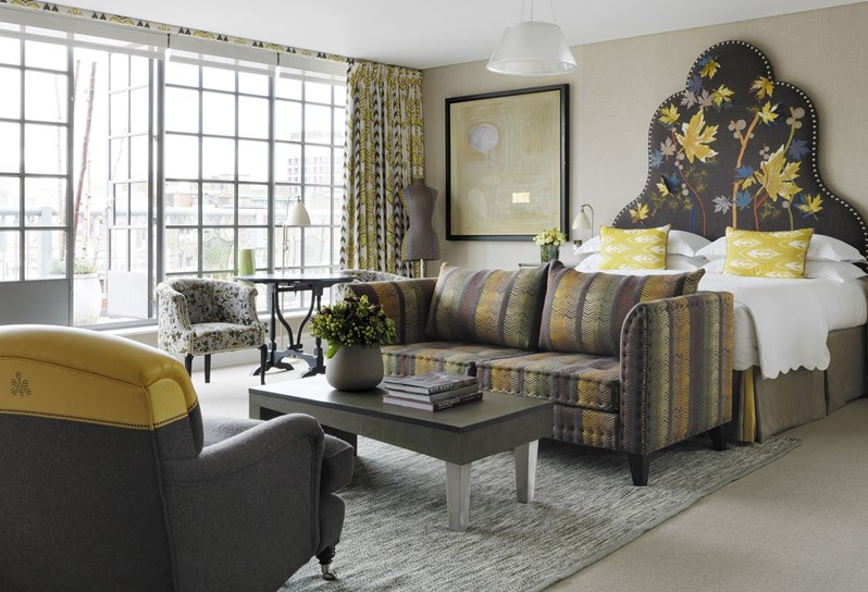 Firmdale hotels two bedroom terrace suite - London hotel suites with 2 bedrooms ...