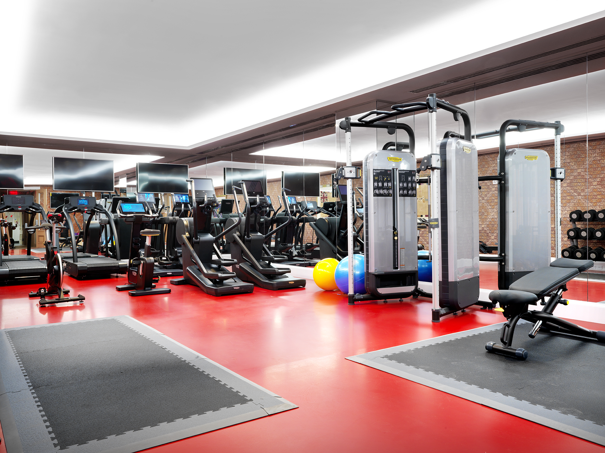 Firmdale hotels the whitby hotel the whitby gym