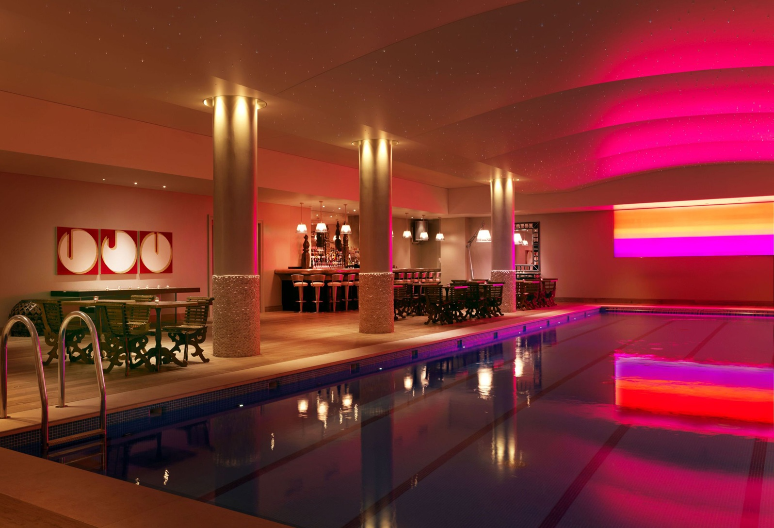 Firmdale hotels swimming pool bar - Hotel in london with swimming pool ...