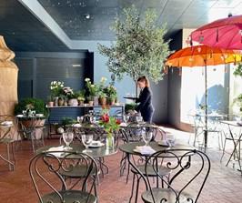 The Soho Hotel terrace
