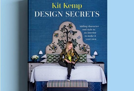 Front cover of Kit Kemp's fourth book entitled Design Secrets