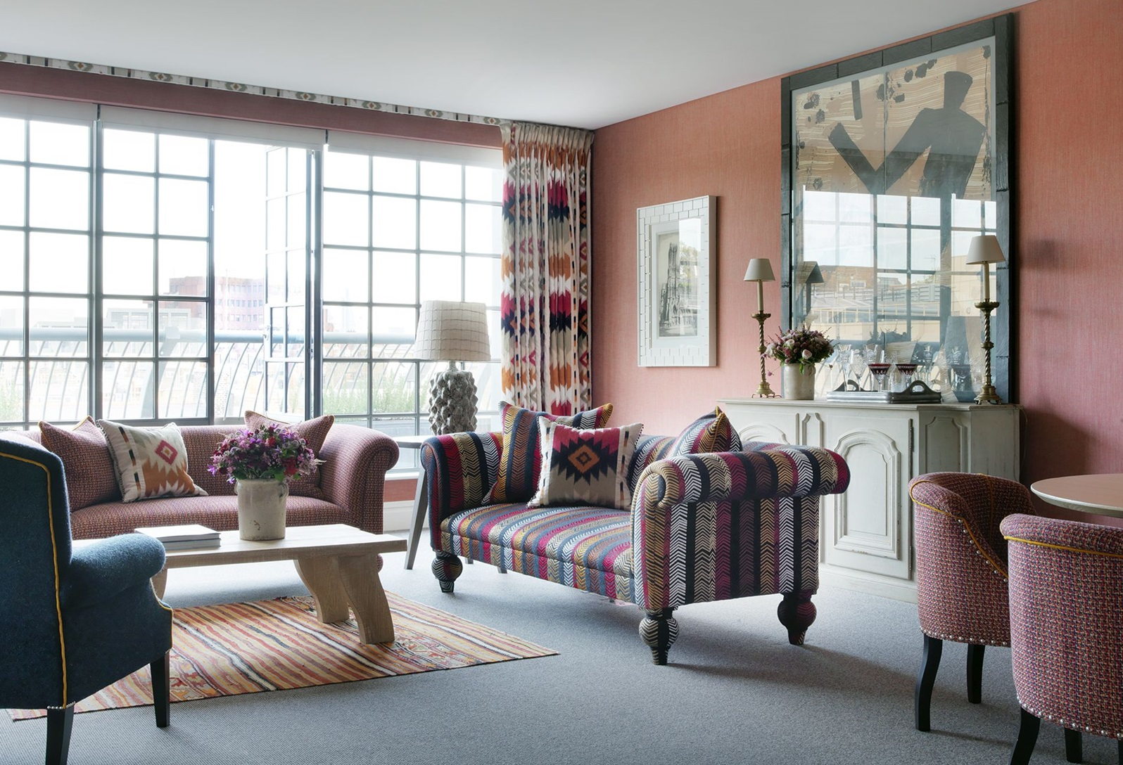 Firmdale hotels two bedroom soho suite - London hotel suites with 2 bedrooms ...