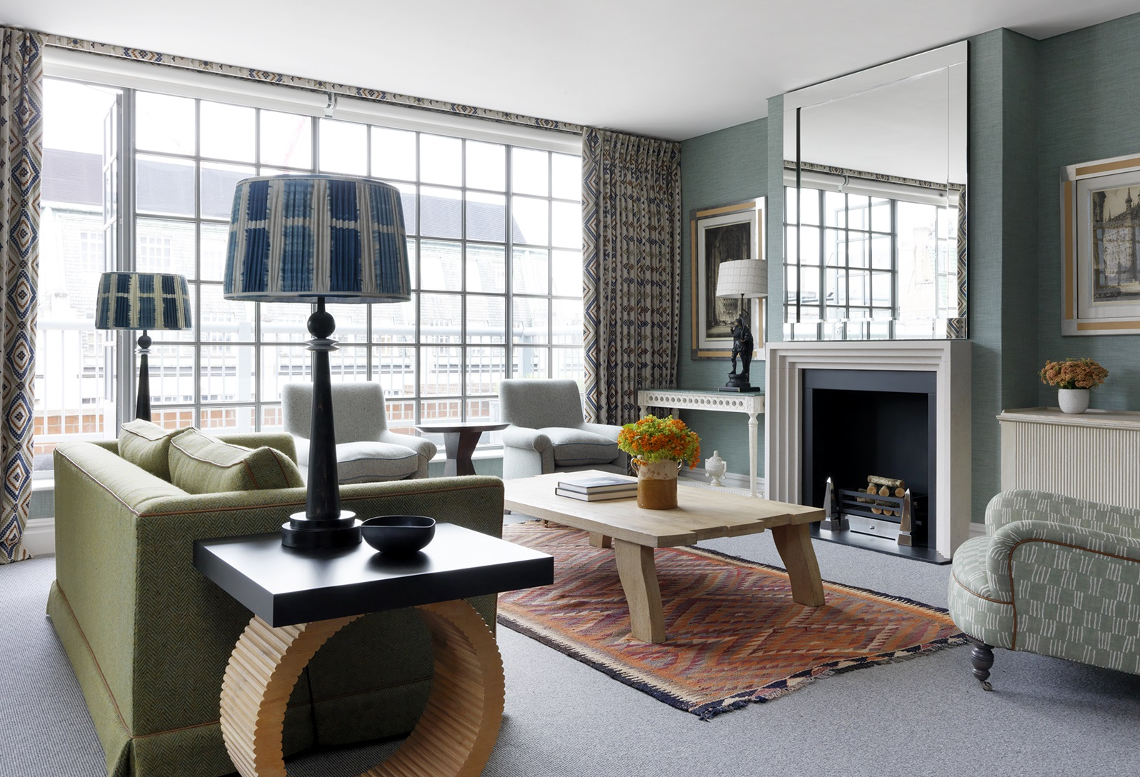 Firmdale Hotels One Bedroom Penthouse Suite Deluxe Terrace Room