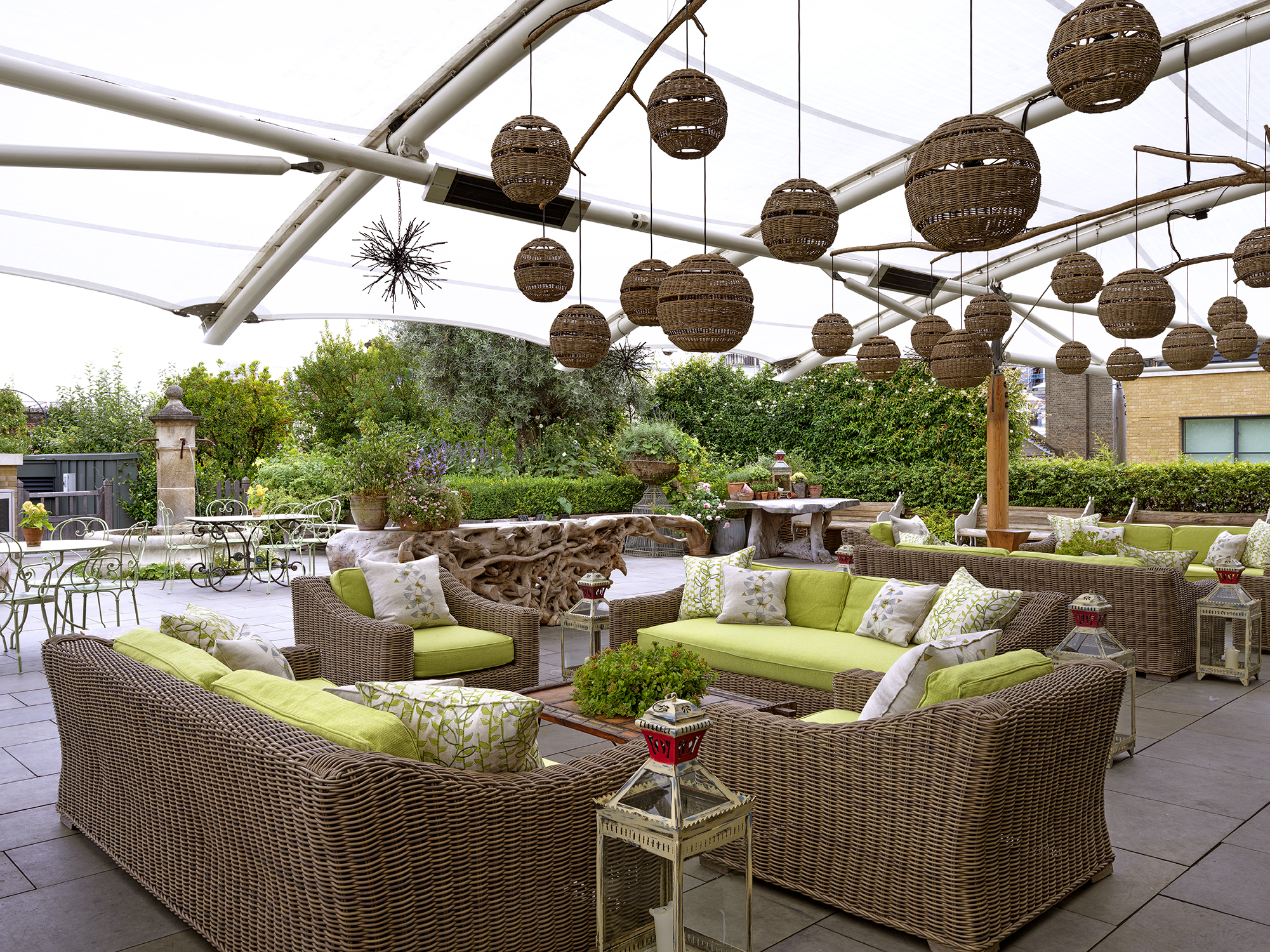 Firmdale Hotels Ham Yard Hotel Roof Terrace