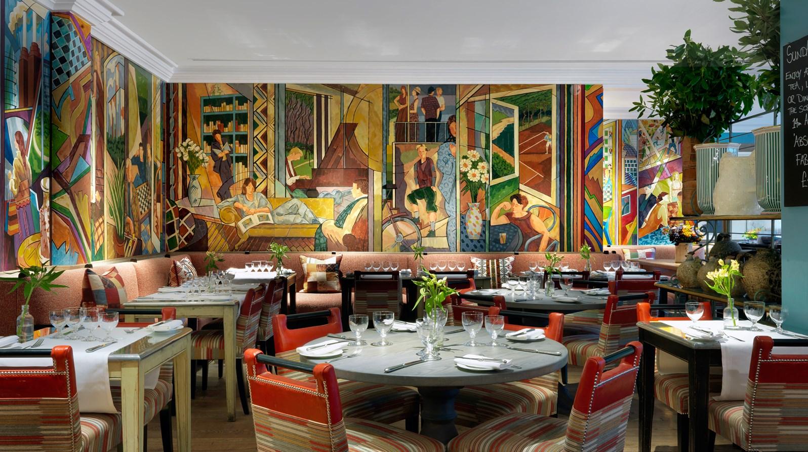 Firmdale Hotels Charlotte Street Hotel Oscar Bar Restaurant
